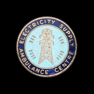 Electricity Supply Ambulance Centre Lapel Badge