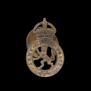 Army Cadet Force Sweetheart Brooch Badge