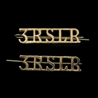 '3RSLR' 3rd Battalion Republic of Sierra Leone Regiment Shoulder Title Badges