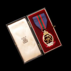 Royal Naval Volunteer Reserve Decoration George VI GRI