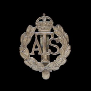 ATS Auxiliary Territorial Service Cap Badge