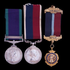 1962 Campaign Service Medal South Arabia and EIIR RAF Long Service + R.A.O.B