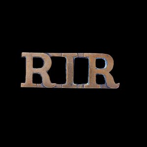 Great War Royal Irish Rifles Shoulder Title Badge