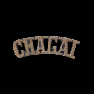 Indian Army Shoulder Title Badge 'Chagai'