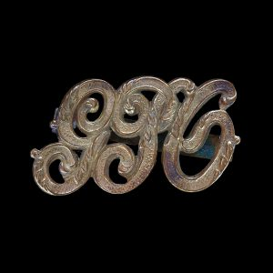 Old General Post Officer Cap Badge G.P.O