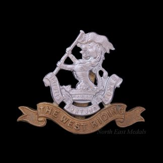 Duke of Wellington's West Riding Regiment Cap Badge