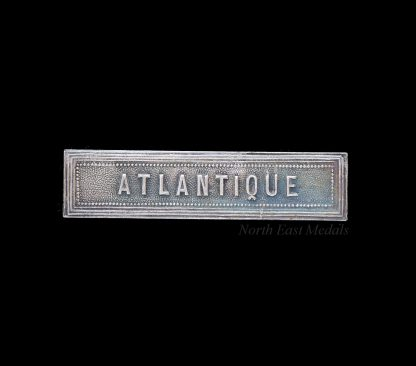 Ribbon Bar for the French WW2 Commemorative Medal: 'Atlantique'