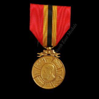 Belgian King Leopold II Commemorative Medal 1865-1905