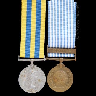 Queen's Korea and UN Korea Medal Driver O'Brien R.A.S.C.