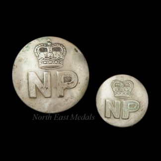 Pair of Nigeria Police Uniform Buttons