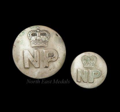 Pair of Nigeria Police Uniform Buttons