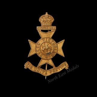 9th ( County of London) Battalion (Queen Victoria's Rifles) Sweetheart Brooch.