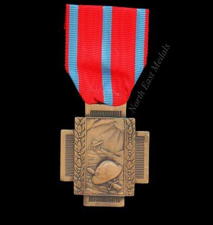 Belgian Great War Fire Cross 1914-18 Croix de Feu