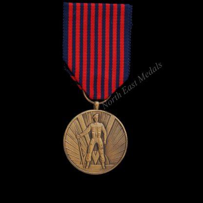 Belgian Volunteers Medal Undated Version