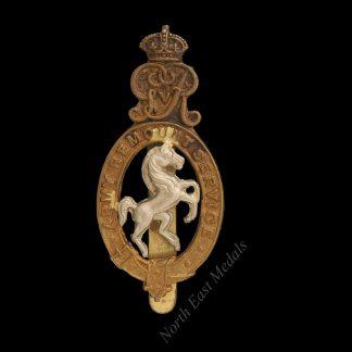 Great War Army Remounts Cap Badge