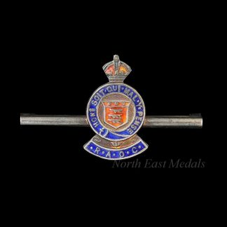 WW2 Royal Army Ordnance Corps Bar Brooch/Sweetheart