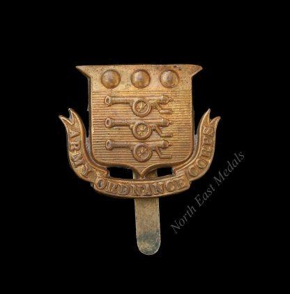 Great War AOC Army Ordnance Corps Cap Badge