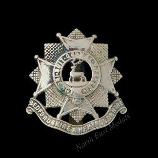 Bedfordshire and Hertfordshire Regiment Cap Badge
