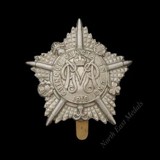 Great War Guards Machine Gun Regiment Cap Badge