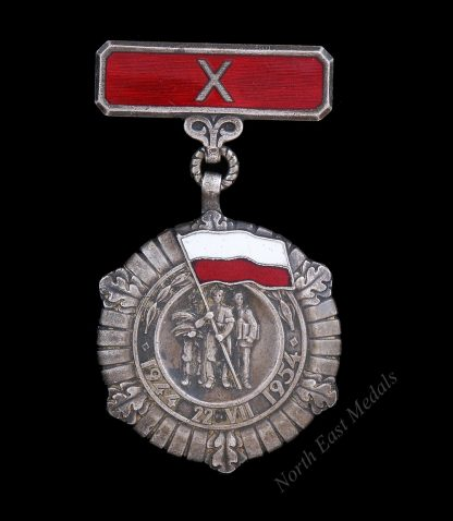 10 Year People's Poland Commemorative Medal 1944-1954