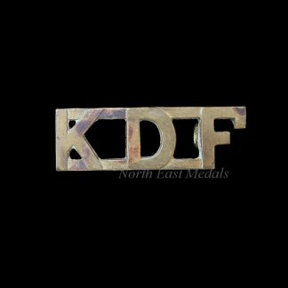 Kenya Defence Force Shoulder Title Badge 'K.D.F.'