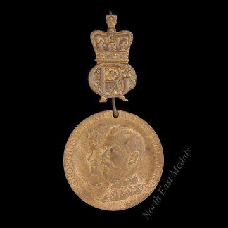 1912 King George V Visit to Bristol Commemorative Medal
