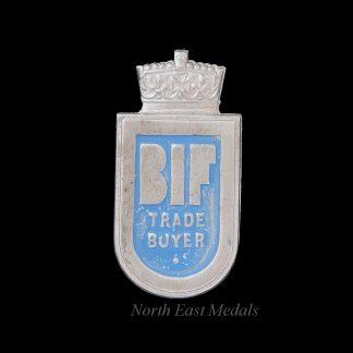 British Industries Fair Trade Buyer Lapel Badge