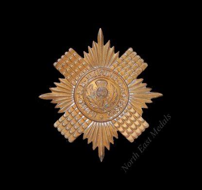 Scots Guards Cap Star Badge