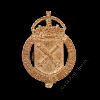 Great War Munition Volunteer Lapel Badge