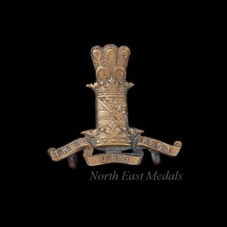 11th Hussars Collar Badge