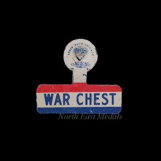 USA WW2 'War Chest' Fundraising Badge/Pin
