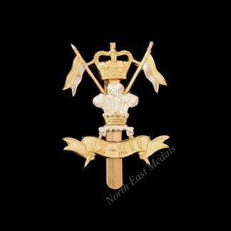 9th/12th Lancers Staybrite Cap Badge