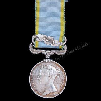 1854-56 Crimea Medal, Clasp Alma. Wm. Manary 44th Regt