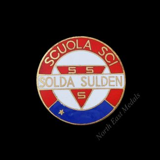 Italian Solda Sulden Skiing Proficiency Badge