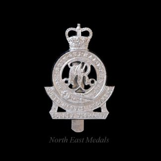 Surrey Yeomanry Staybrite Cap Badge