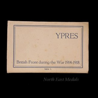 Post Card Book Ypres, British Front During the War 1914-18 (series2)