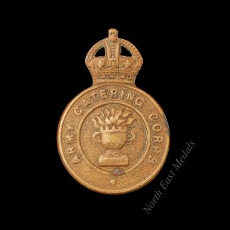 WW2 1st Pattern Army Catering Corps Cap Badge