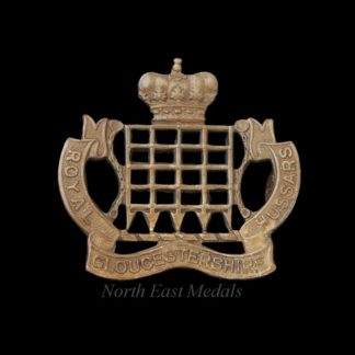 Royal Gloucestershire Hussars Yeomanry Collar Badge
