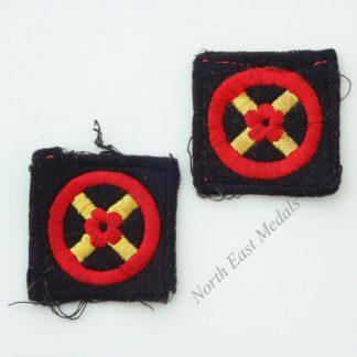 Pair of Western Command Formation Signs/Arm Badge
