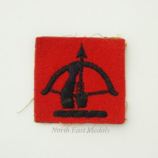 Anti-Aircraft Command Formation Sign/Arm Badge (embroidered)