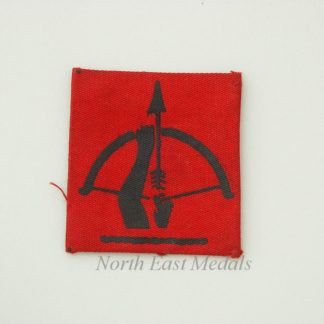 Anti-Aircraft Command Formation Sign/Arm Badge (Printed)