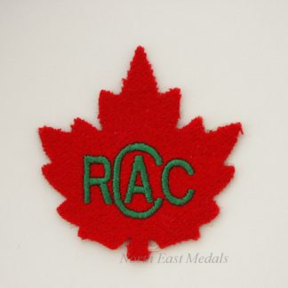 Royal Canadian Army Cadets R.C.A.C. Arm Badge