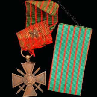 French Great War Croix de Guerre 1914-18 Reverse