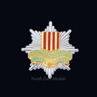 Northumberland County Fire Brigade Cap Badge