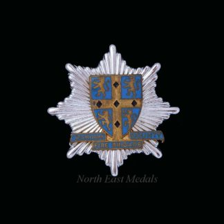 Durham County Fire Brigade Cap Badge