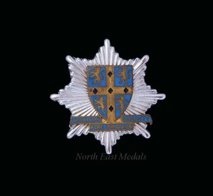 Durham County Fire Brigade Cap Badge