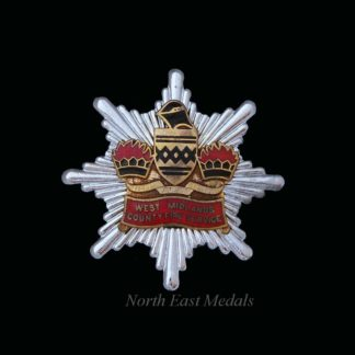 West Midlands County Fire Brigade Cap Badge
