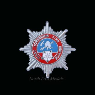 West Yorkshire Fire Service Cap Badge