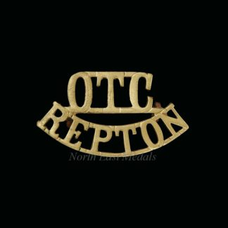 Repton Officers Training Corps Shoulder Badge