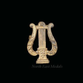 Royal Marines Musician's Lyre Badge